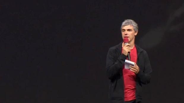 Googles grundare Larry Page lämnar posten som vd i sökjättens moderboag Alphabet