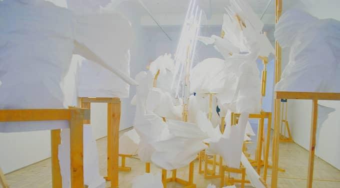 Skulpturer av Wim Botha.