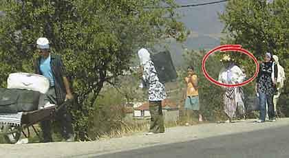 Brittiska myndigheter ska granska bilden från Marocko.
