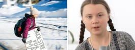 Greta Thunbergs tal i Davos: Sluta flyga