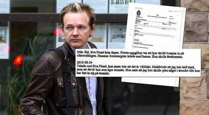MISSTÄNKS FÖR VÅLDTÆKT. Wikileaks-grundaren Julian Assange i Stockholm efter att ha mött sin advokat Leif Silbersky. Foto: Roger Vikström