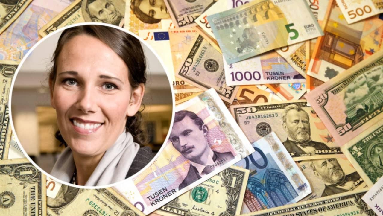 Ranta valuta dollarn fortsatter tappa