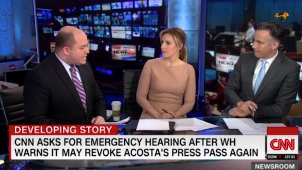 Donald Trump slår igen mot CNN:s Jim Acosta