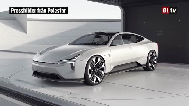 Polestars nya konceptbil: Så ser den ut
