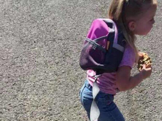 Pappan la ut den här bilden på dottern – nu reagerar tusentals föräldrar