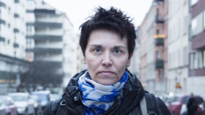 """Yvonne Johanneström, 52, Ljungaverk """"Jag går inte runt och förväntar mig att jag ska bli överfallen varje dag, däremot ser och hör jag från alla håll varje dag om våldtäkter, ofredande och tafsande. Ta Östersund till exempel, det ligger dessutom nära där vi är. Och jag har varit i hotfulla situationer där det hade varit bra att veta några tricks i alla fall."""" Foto: Lisa Mattisson"""