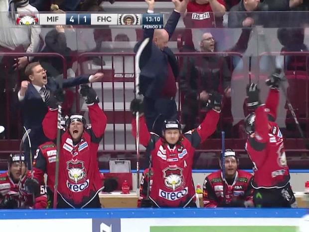 Höjdpunkter: Malmö Redhawks-Frölunda