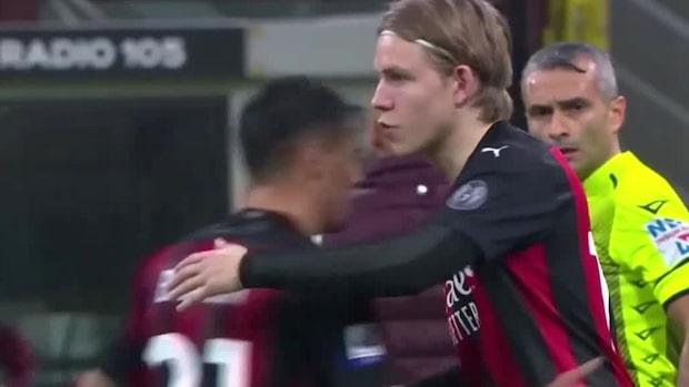 Här byts norrmannen in–får göra debut för Milan