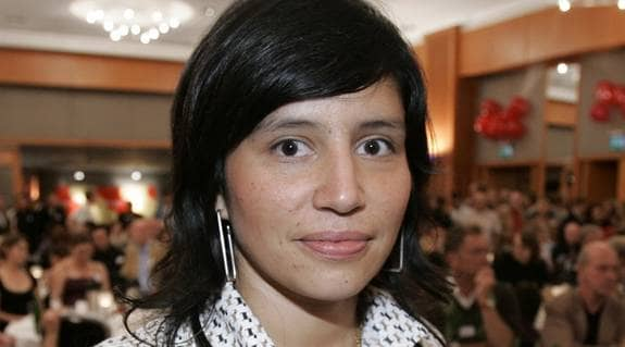 Rossana Dinamarca, Riksdagsledamot (v) Utbildningsutskottet. Foto: Sjöberg Mikael
