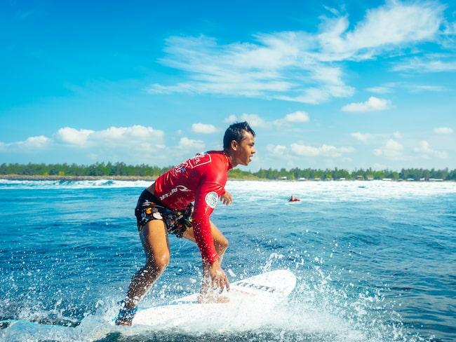 Lapoints lokala instruktörer är grymma surfare.