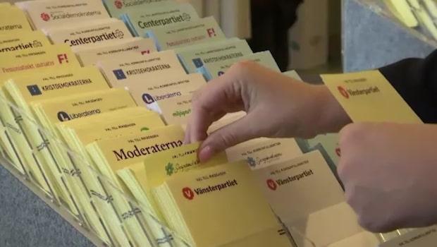 S-valfusk polisanmält i Skåne - förkryssade valsedlar delades ut