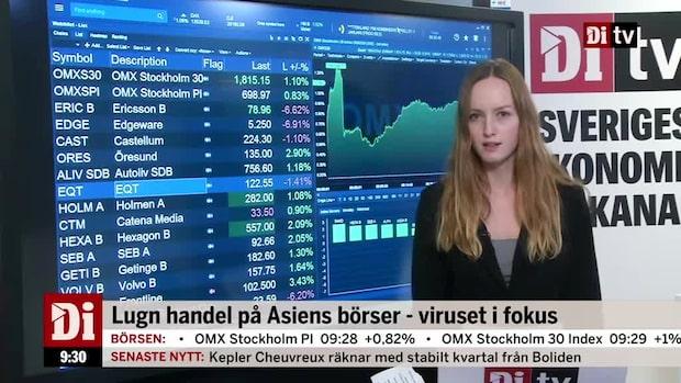 Marknadskoll: Telekomjätten faller på stigande börs