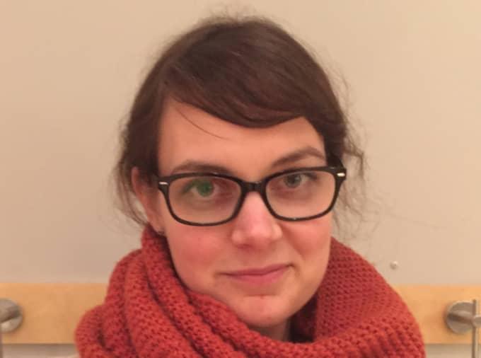 """Lova Necksten, 29, gruppledare i kommunfullmäktige i Ronneby """"Det har varit en väldigt bra dag. Vi står fortfarande för en human flyktingpolitik och det har lyfts fram här."""""""