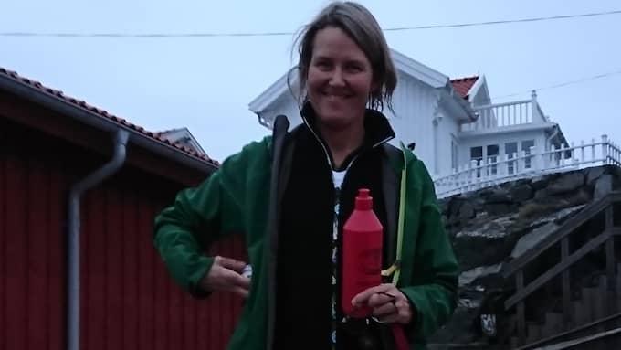 – Vintern är den årstid när naturen bestämmer vad som är möjligt, säger Christina Ingemarsdotter, som driver bolaget Kajak i Grundsund. Foto: Privat