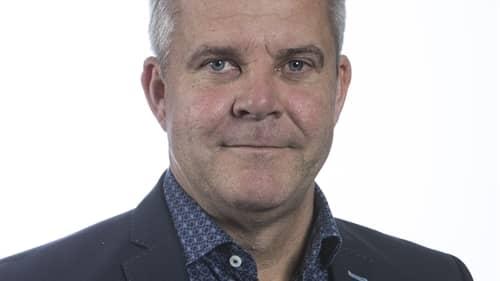 Fredrik Svanbom, Gävle Hamns vd, vill inte gärna säga att man tror det är en ubåt man har sett i hamnen. Foto: Gävle Hamn