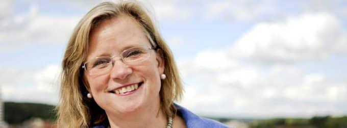 Maria Fälth, ordförande för Kristdemokratiska Kvinnoförbundet