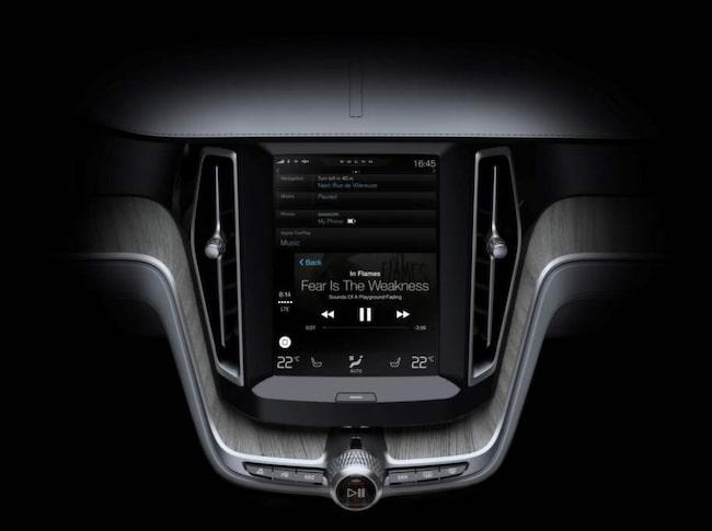 Volvo anpassar sitt eget användargränssnitt för att integrera Apples funktioner.