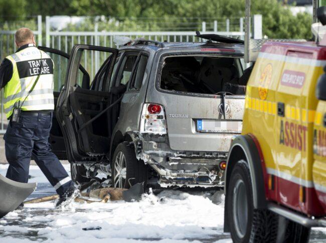 Förra sommaren exploderade en gasbil från Volkswagen på en mack i Göteborg.