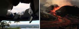 Lavabomb slog ner på turistbåt – 23 skadade