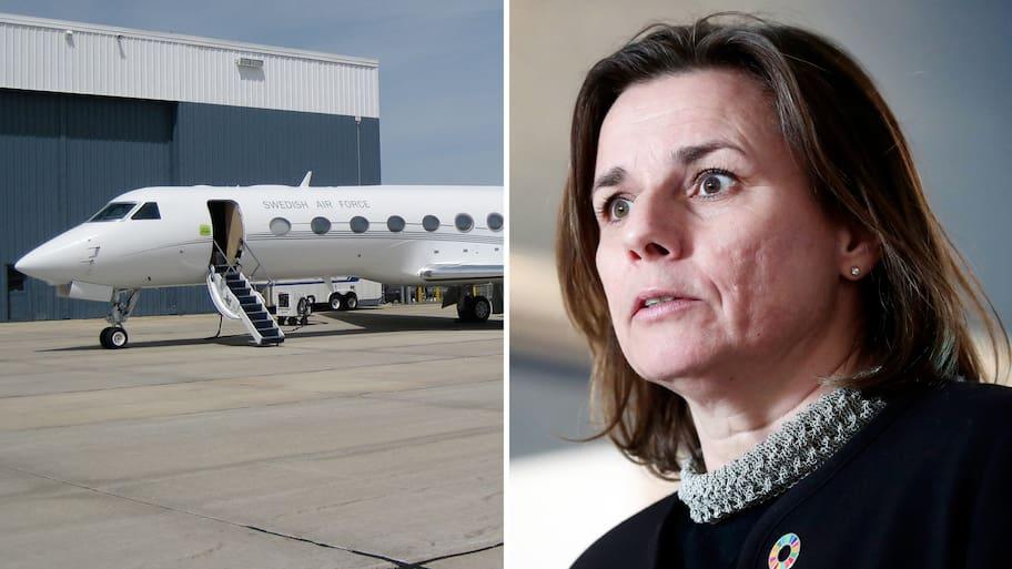 Statsflyget är till för att transportera Sveriges högsta civila och