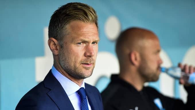 Magnus Pehrssons första tid som Malmö FF-tränare har varit succéartad. Foto: LUDVIG THUNMAN / BILDBYRÅN