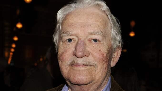 Hasse Alfredson begravs på Tage Danielssons dödsdag. Foto: PIERRE BJÖRK / IBL BILDBYRÅ / IBL BILDBYRÅ / IBLAB
