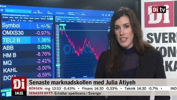 """Marknadskoll: """"En fullständig klädkrasch på börsen"""""""