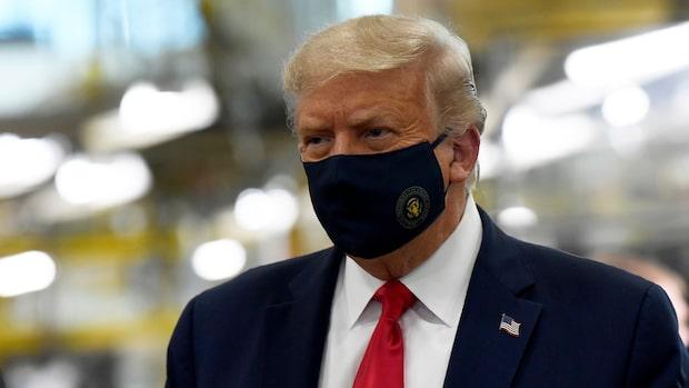 Donald Trump och Melania smittade av coronaviruset