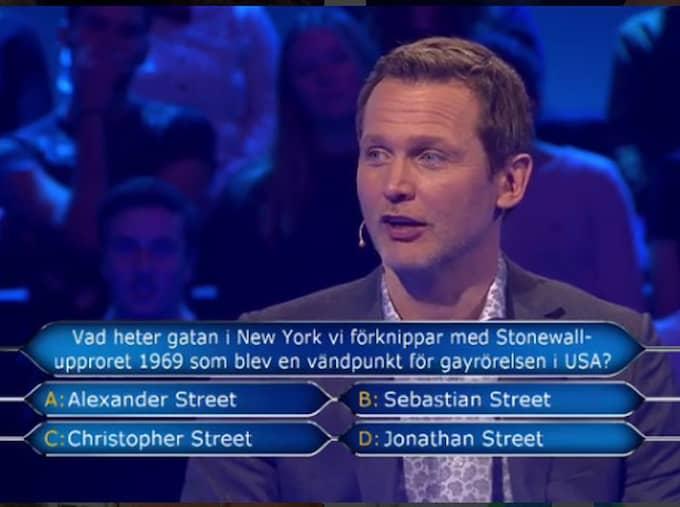 Rickard Sjöberg är programledare