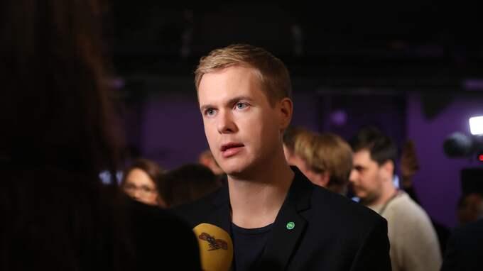 Utbildningsminister Gustav Fridolin (MP) har lagt fram förslaget tillsammans med statsminister Stefan Löfven. Foto: SÖREN ANDERSSON/TT / TT NYHETSBYRÅN
