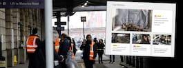 Flera bomber hittade på centrala platser i London