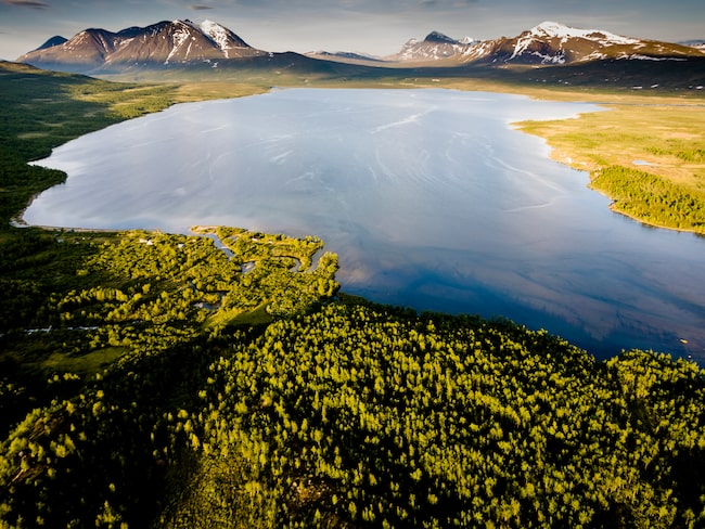 Världsarvet Laponia.
