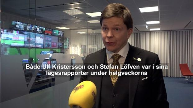 Talmannen om Sjöstedts sms: Då kände jag mig säker