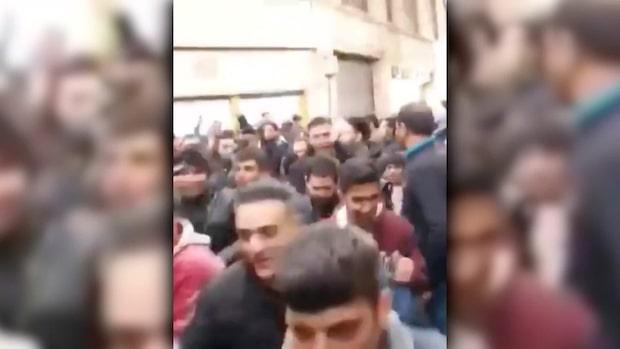 Minst tre döda i bensinprotester i Iran