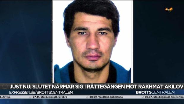 Johan Eriksson: Därför flyttades Akilov till egen korridor