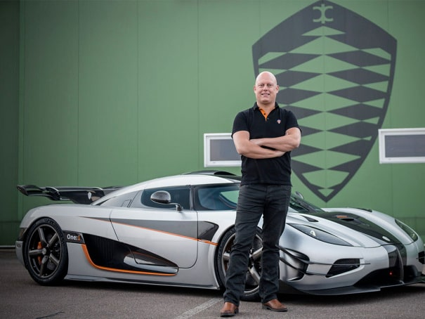 Christian von Koenigsegg 2014