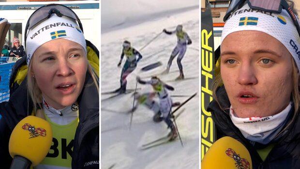 Skidsnack: Osynliga bråket mellan svenskorna