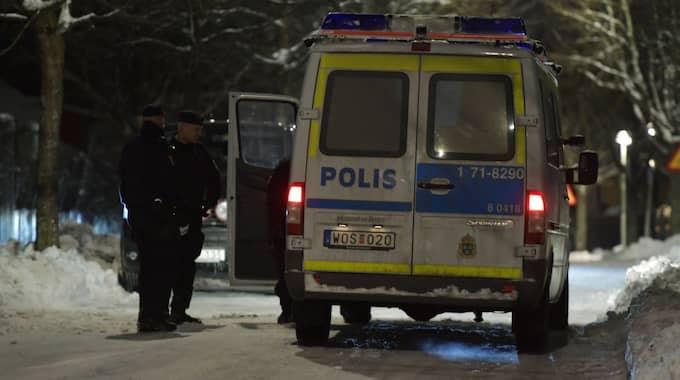 Ett vittne har uppgivit att fyra till sex skott hördes innan männen hittades döda. Foto: Jessica Gow/Tt / TT NYHETSBYRÅN