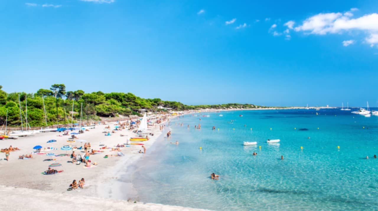 Fina stränder sicilien