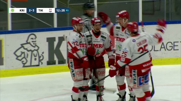 Timrå vann över Kristianstad på OT i sista omgången
