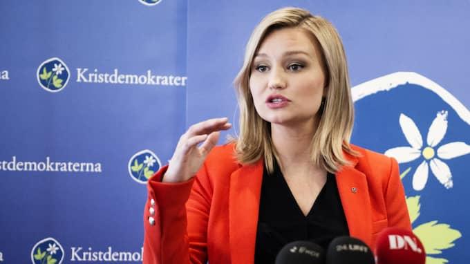 Om Ebba Busch Thor tvingas backa om flyktingpolitiken förändras dynamiken i svensk politik – ändå har splittringen knappt blivit uppmärksammad. Foto: Anna-Karin Nilsson