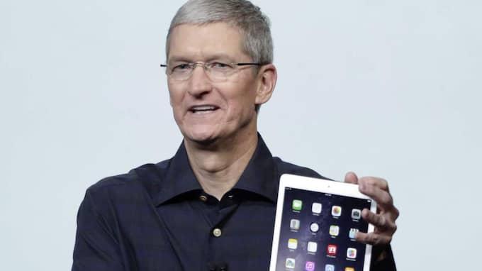 Apples vd Tim Cook har sagt att han inte vill avslöja något om hur företagets magi fungerar- Foto: Marcio Jose Sanchez