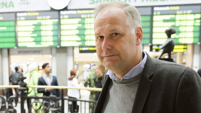 Jonas Sjöstedt (V). Foto: Henrik Montgomery/TT