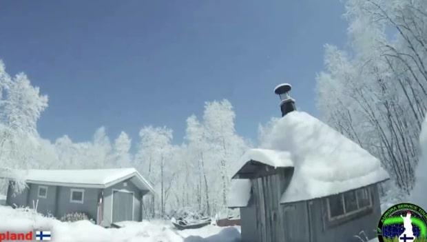 Här förvandlas Lapplandsnatten till dag