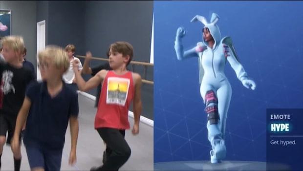 Dansstudion erbjuder Fortnite-inspirerade dansklasser
