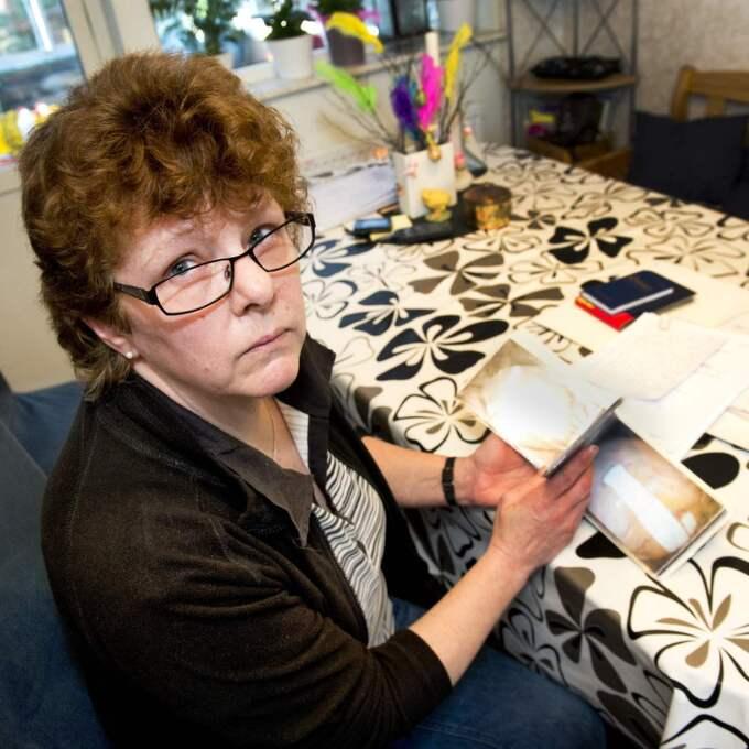 Tre år har gått efter operationen som slutade med att magen sprack och tarmarna föll ut. Ann-Kristin Nilsonius lever i dag med ständiga smärtor och svåra, återkommande infektioner. Foto: Rickard Nilsson