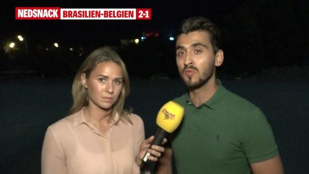 Nedsnack: Brasilien - Belgien