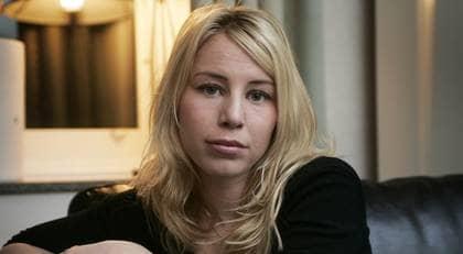 """Caroline Stenman, 26, var utsänd av P1:s """"Kaliber"""" för att med dold kamera filma Sverigedemokraternas resa till Estland. Det var när hon avslöjades som det rån som nu utreds ska ha begåtts. Foto: Anders Ylander"""