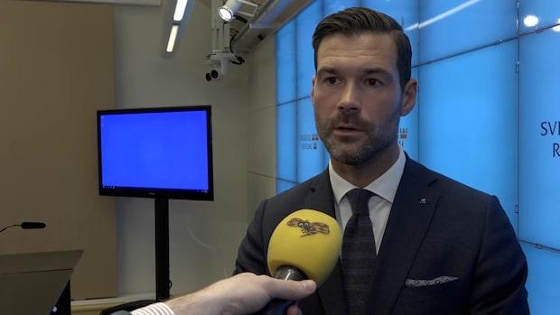 """Johan Forssell (M): """"Det kan vi inte acceptera"""""""