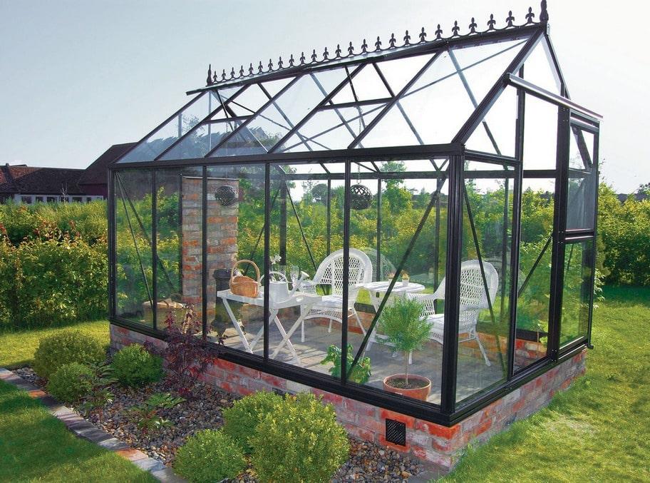 16 härliga växthus! Se här. Bilder och info om varje.   Trädgården ... : bygga lusthus : Inredning
